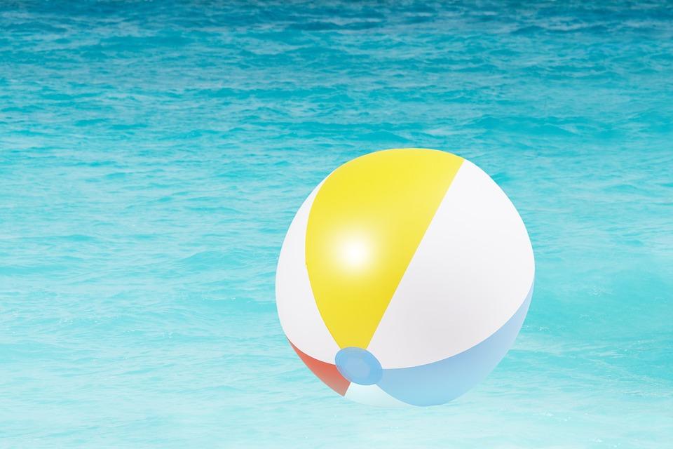 Strandbal bedrukken